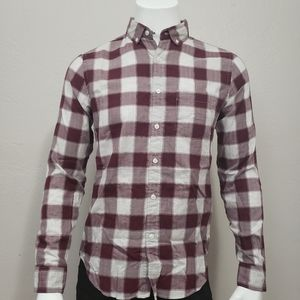 Express Soft Wash Flannel Button-Up